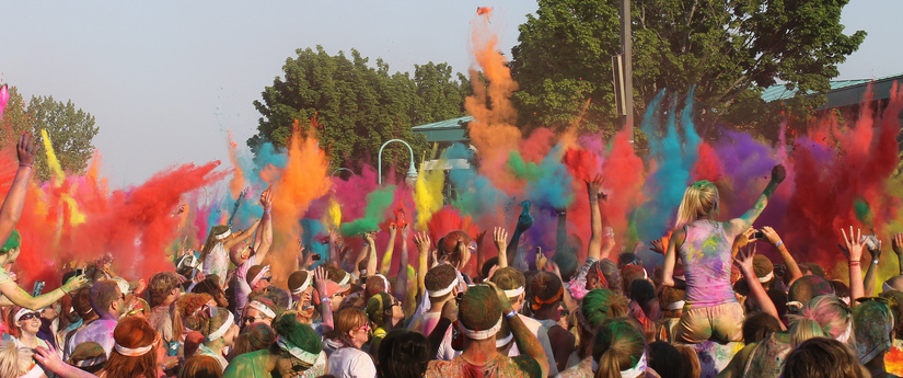 Color Run nu ook in Nederland